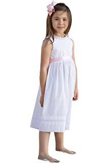 Amazon Com Strasburg Children Girls Lace Beach Gown Summer Dress