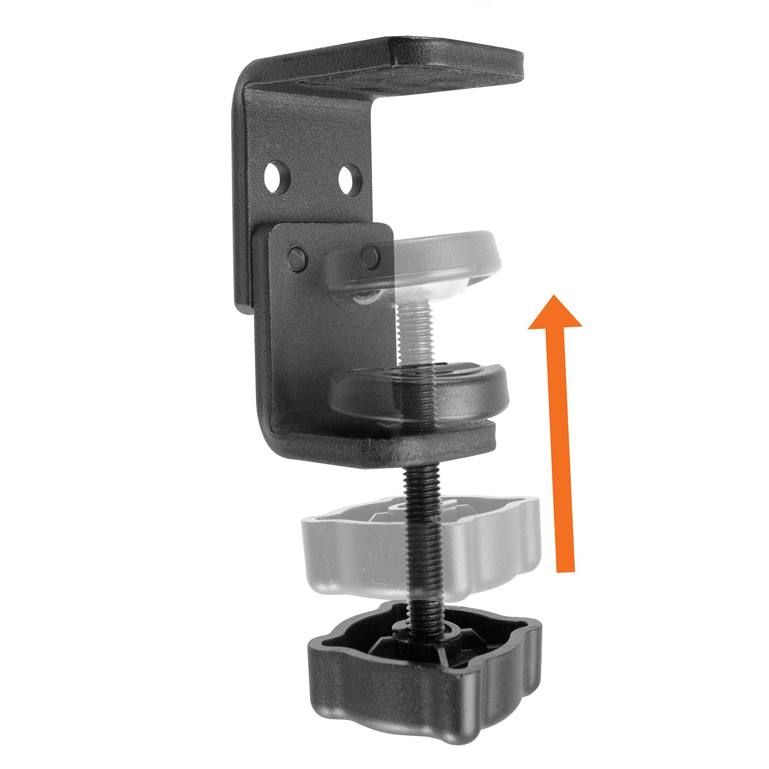 iBOLT TabDock Bizmount Clamp- Heavy Duty Dual-Ball C-Clamp Mount for All 7-10 Tablets iPad, Samsung Galaxy Tab, etc. for Desks Offices IBBZ-33910 Wheelchairs Tables Carts: Great for Homes Schools