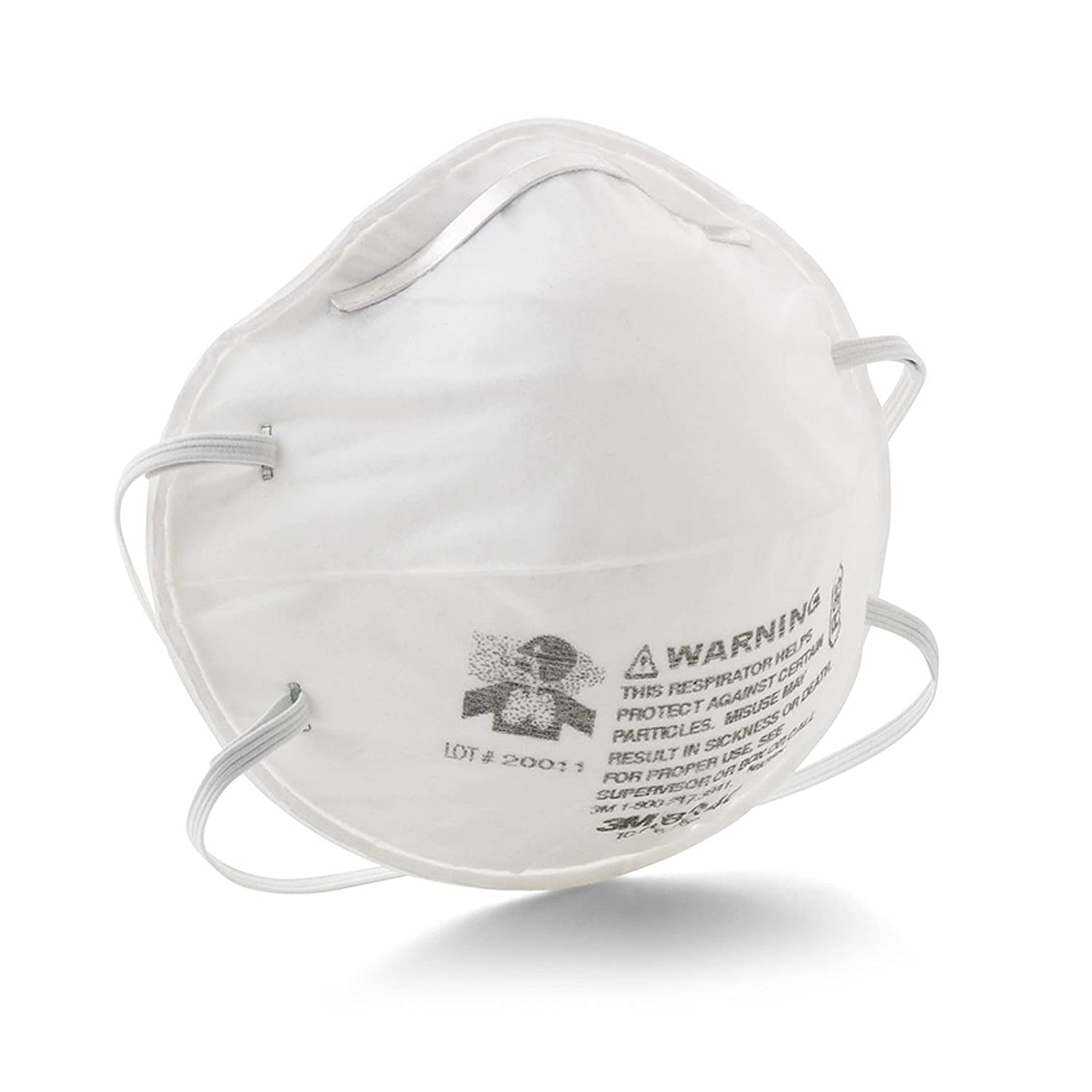 disposable respirator mask