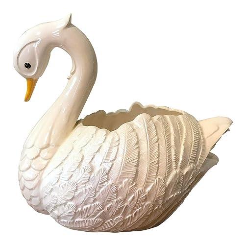 Vintage Planter Vintage Swan Planter