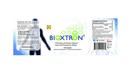 Amazon.com: Bioxtron Natural AFA Stem Cell Supplement-120 Capsules (1): Health & Personal Care