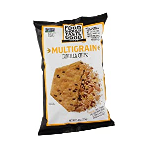 Food Should Taste Good, Multigrain Tortilla Chips, 5.5 Ounce