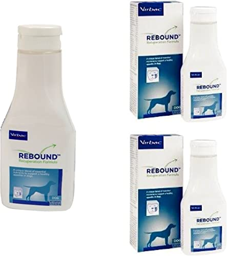 3 Pack Rebound Recuperation Formula Canine – 150 ml 5.1 fl oz Each, Pack of 3
