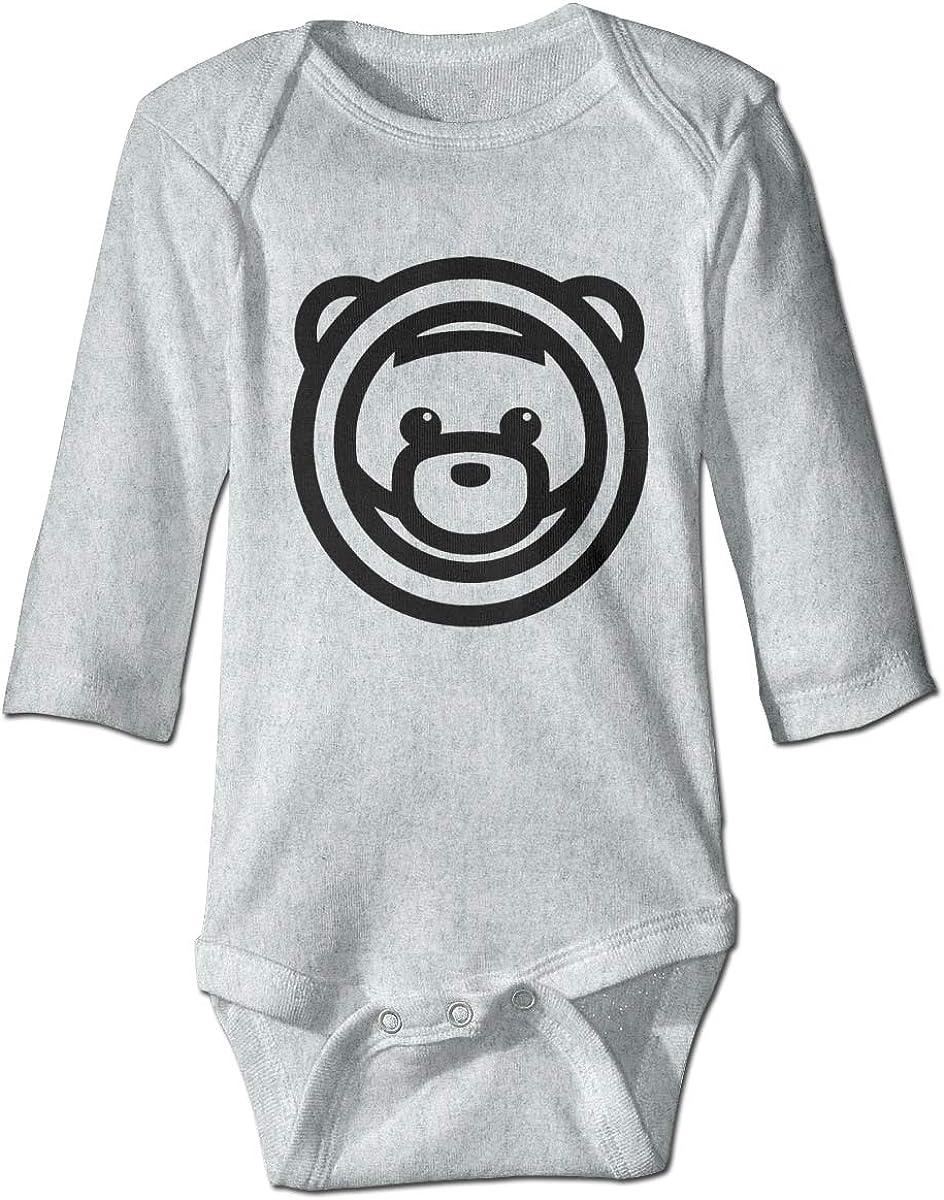 Smooffly Newborn Baby Girls Boys Ozuna Bear Long Sleeve Bodysuit Playsuits