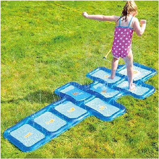 XXpad Splash Pad, Piscina for niños, Juguetes de Verano for Jardines de Playa POV: Amazon.es: Hogar
