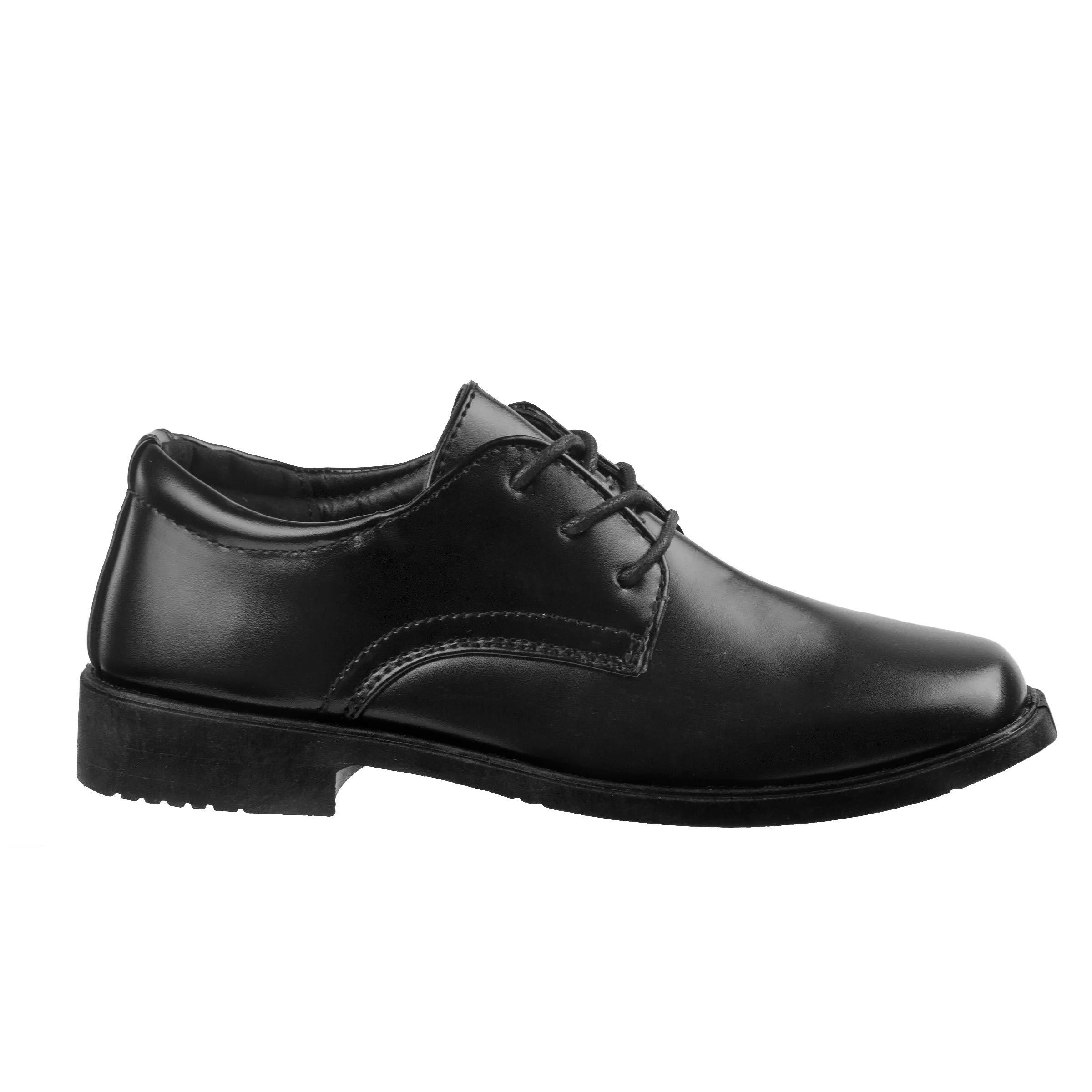 Josmo Boys Basic Oxford Casual Dress Shoe, Black, Size 5' by Josmo (Image #4)
