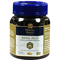 Manuka Health 10hda Royal Jelly 1000mg 180 & 365 Capsules 100% Pure Royal Jelly...