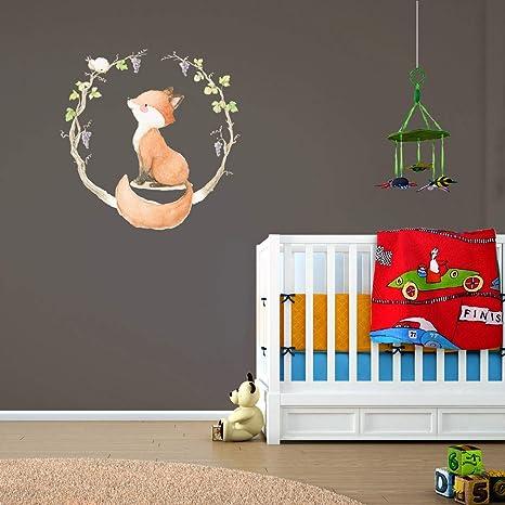 Amazon.com: Happy Fox interior decoración los niños pared ...