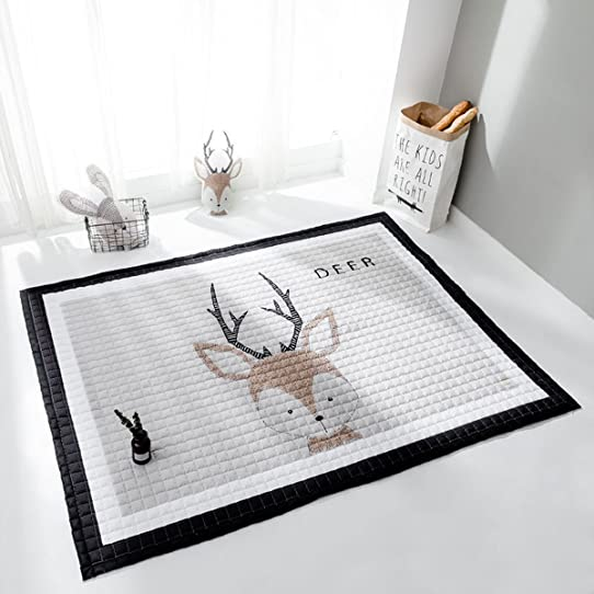 Bébé Enfants Ramper Tapis Épaissir Grand Rectangle De Bande