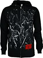 The Walking Dead Walkers Attack Men's Zip Hoodie