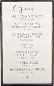 CB Gift Faithworks-Spiritual Harvest Large Weathered Gray Wall Sign, 12.5 x 20-Inches, Affirmation