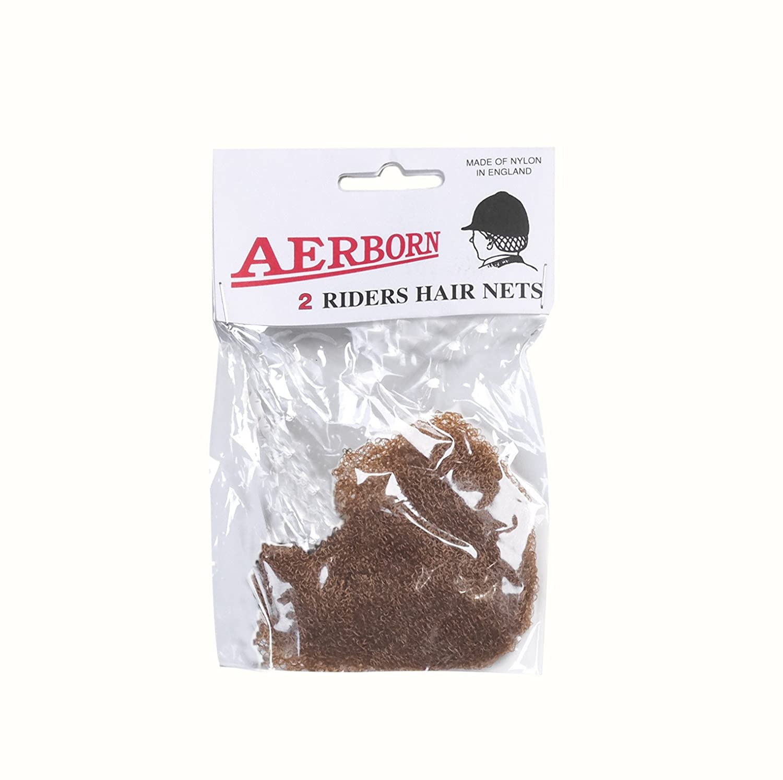 Perri's Aerborn Heavyweight Hairnet, Black, Pack of 2 Perri' s 1004