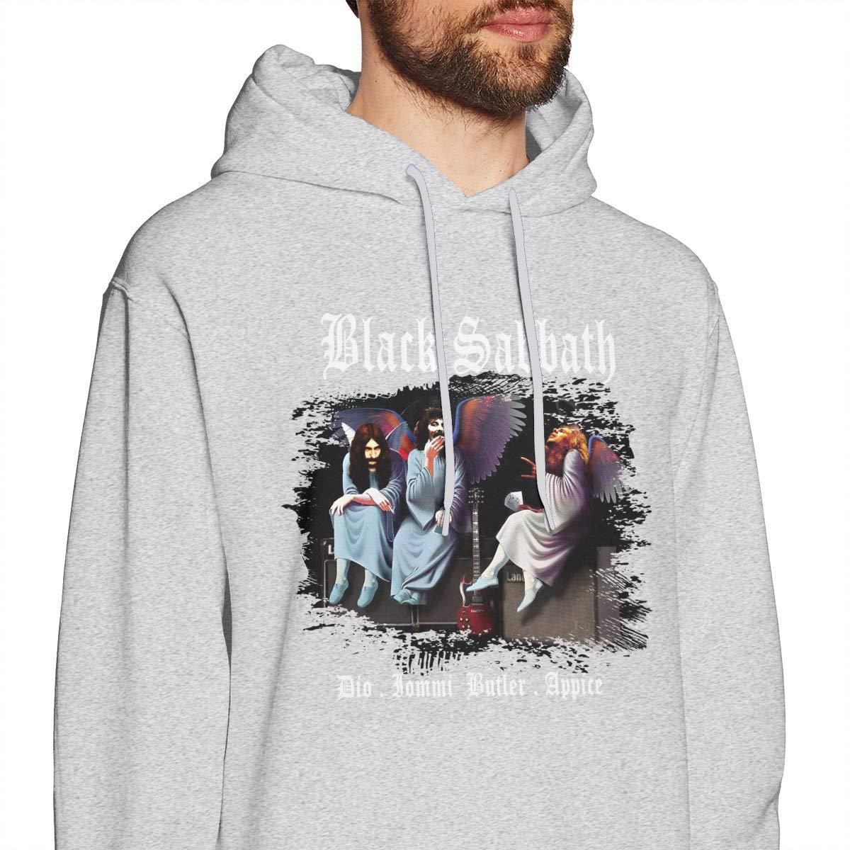 Herren Schwarz-Sabbat Himmel /& Halle Fans Pullover Hoodie Langarm Sweatshirt Hoodies f/ür Herren Jungen Kleidung Outdoor Grau L