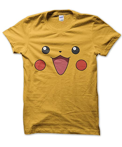 9efd91d8d Amazon.com: Clique Clothing Pikachu face T-Shirt: Clothing