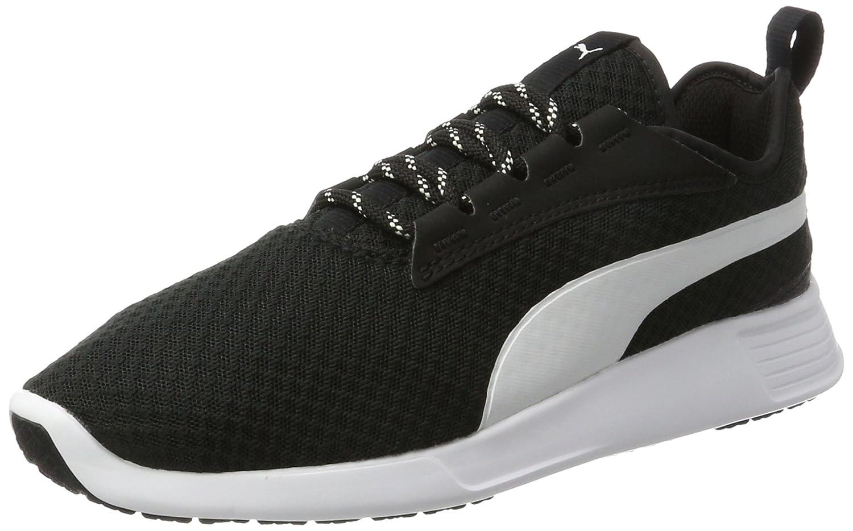 Puma Unisex-Erwachsene St Trainer Evo V2 Sneaker  43 EU|Schwarz (Black-white)