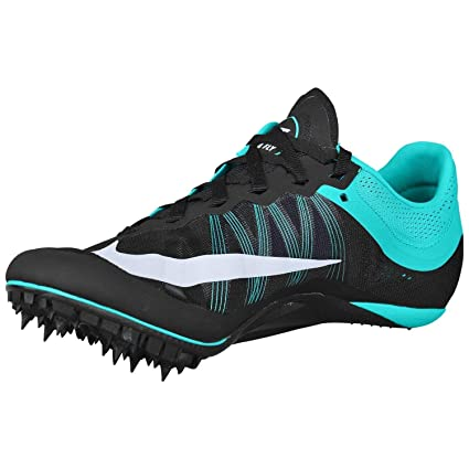 differently cf543 7b98c Amazon.com Nike Zoom Ja Fly 2 Running Track Spikes Black White Hyper Jade  Mens Size 15 Everything Else