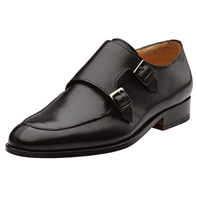 Amazon.com | 3DM Lifestyle Handcrafted Genuine Leather Men's Split Toe Double Monk Strap Dress Shoes | Oxfords