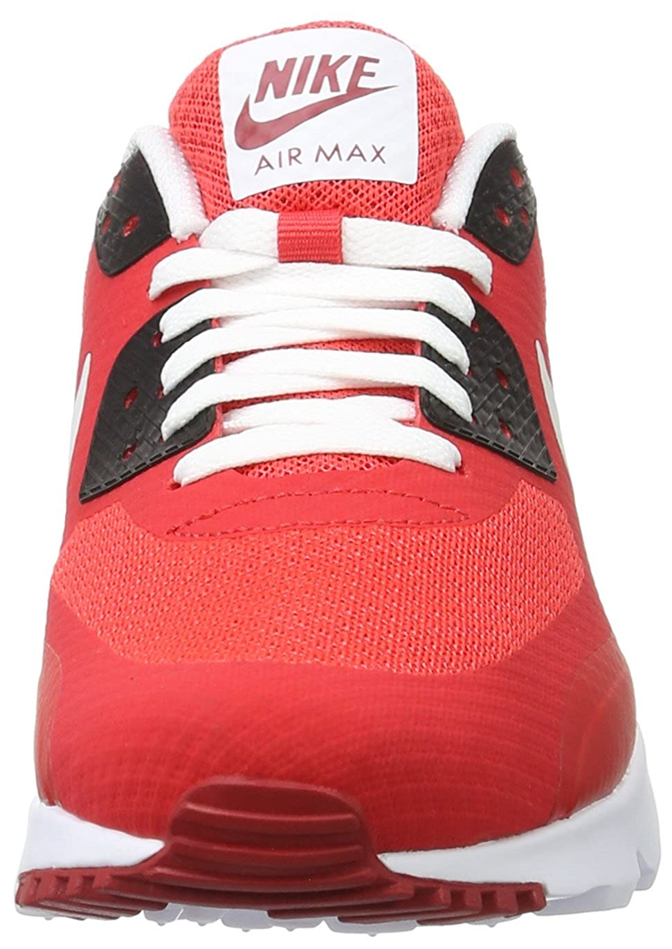 061014966a Men s Nike Air Max 90 Ultra Essential Action Red/Pure Platinum-Gym Red-Black  10.5 D(M) US: Amazon.in: Shoes & Handbags