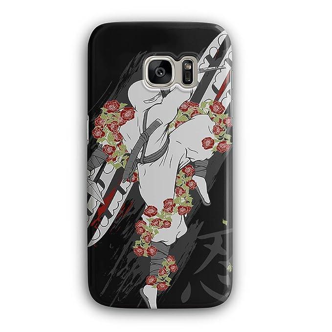 Amazon.com: Ninja Flower Rose Asia 3D Samsung Galaxy S7 Case ...