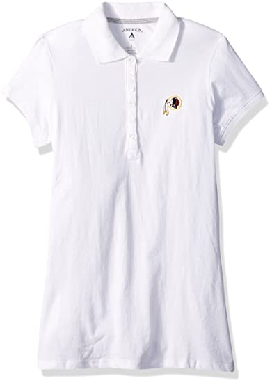 455a4f7eb Amazon.com   NFL Women s Washington Redskins Spark Short Sleeve Polo ...
