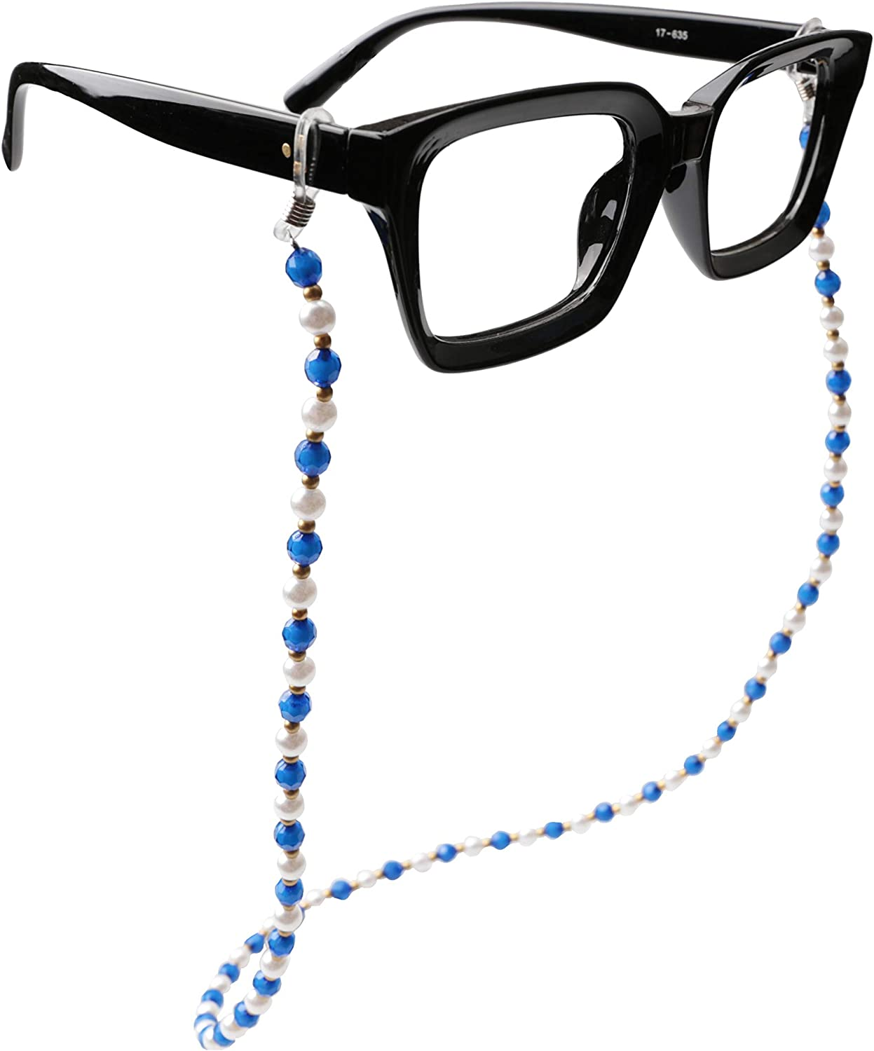 Sopaila Pearl Beads Eyeglasses Chain String Holder Sunglasses Necklace Chain Cords