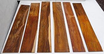 Cocobolo placage en bois de palissandre incroyablement