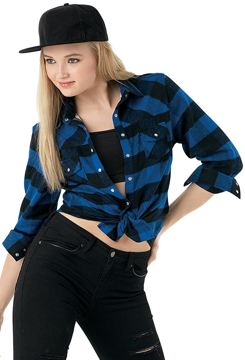 Urban Groove Dance Buffalo Plaid Flannel Shirt