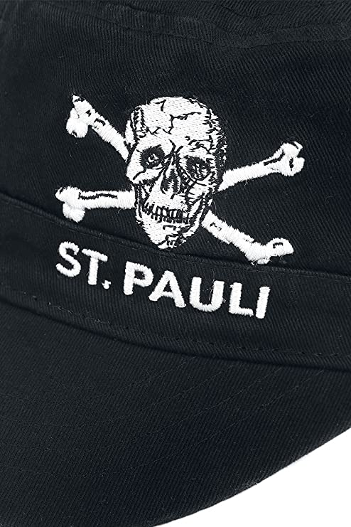 FC St. Pauli Army Skull Cap Black  Amazon.co.uk  Clothing 2639e9ccd561