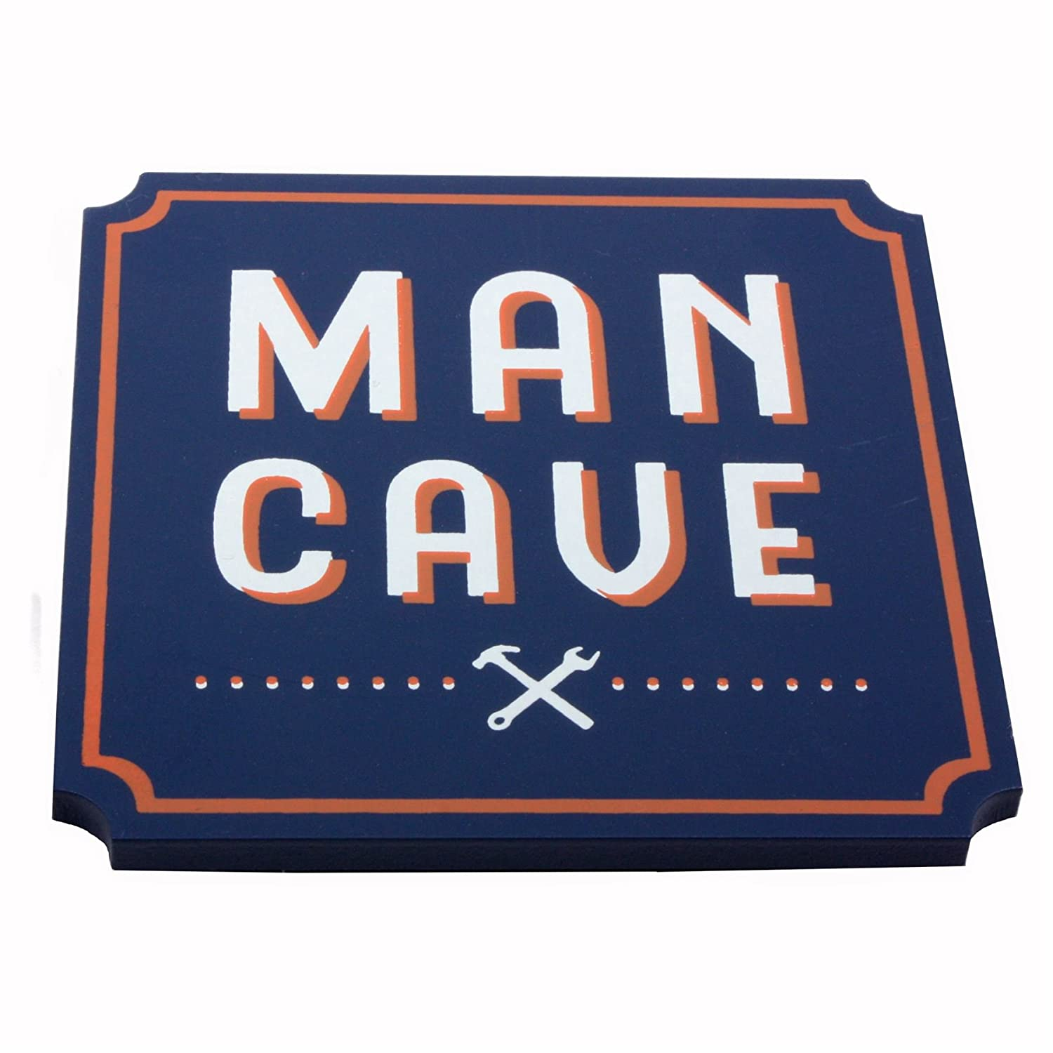 The Hardware Store木製コースター – Man Cave   B07CKXYD7P