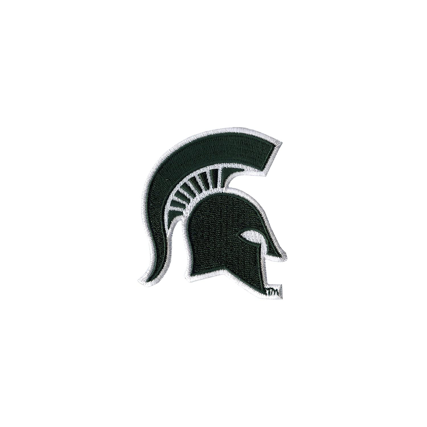 Tervis 1232317 Michigan State Spartans Helmet Insulated Tumbler with Emblem and Hunter Green with Gray Lid 24oz Water Bottle Clear