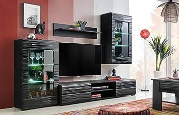 Extreme Furniture Modern Living Room Furniture Set Storage ...