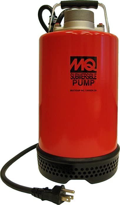 Multiquip ST2037 Centrifugal Single Phase Electric Submersible Pump, 37-Feet Head, 73 GPM, 2-Inch Discharge