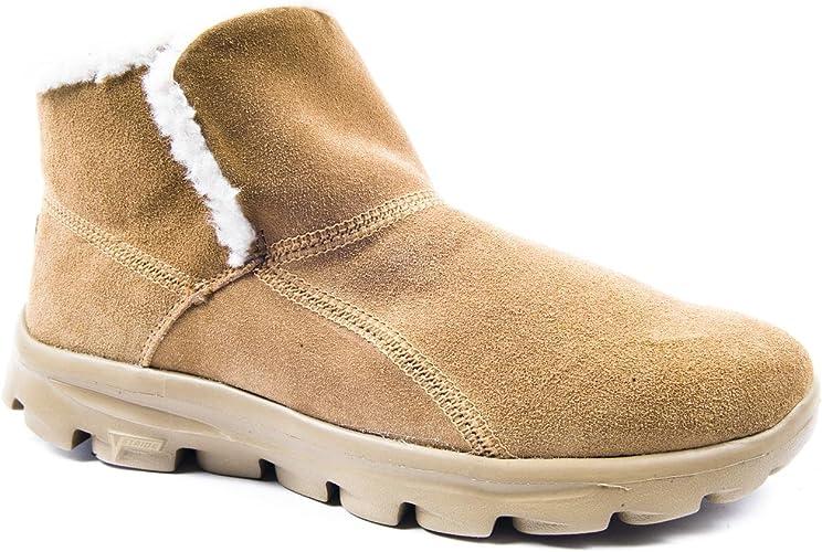 Chugga Chestnut Ankle Boots Size