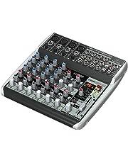 Premium 12 Input 2 Bus Mixer with XENYX Mic Preamps/Compressors/British EQs/24 Bit Multi FX Processor and USB/Audio Interface