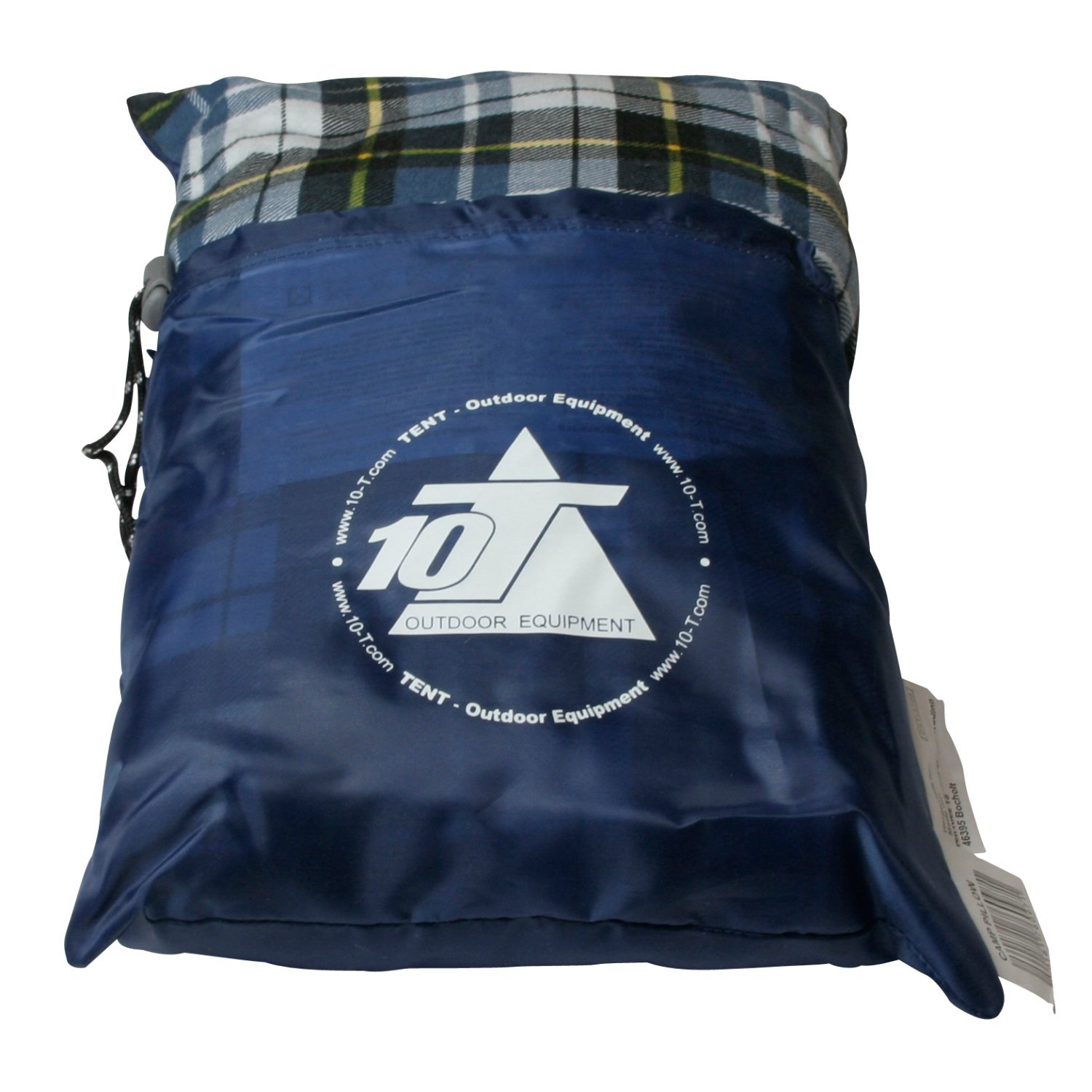 10T Outdoor Equipment 10T Camp Pillow Almohada de camping, Azul, Estándar: Amazon.es: Deportes y aire libre