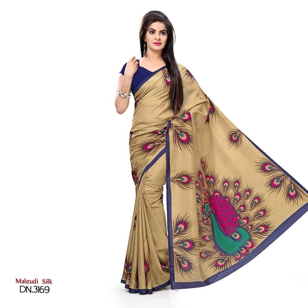 Ethnicfashionista Art Silk Designer Saree svimala3169