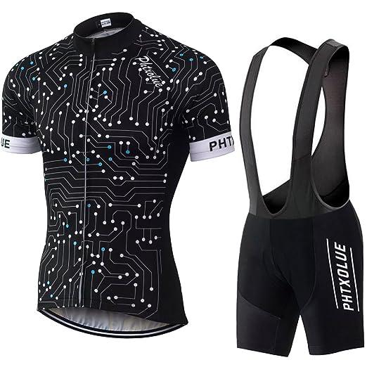 5e7de9cf9 PHTXOLUE Men s Summer Breathable Cycling Jerseys Mountain Bike Short Sleeved  T-Shirt Bicycle Shorts Padded
