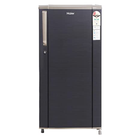 Haier 181 L 2 Star Direct-Cool Single Door Refrigerator (HED-1812BKS-E,  Black Brushline): Amazon.in: Home & Kitchen