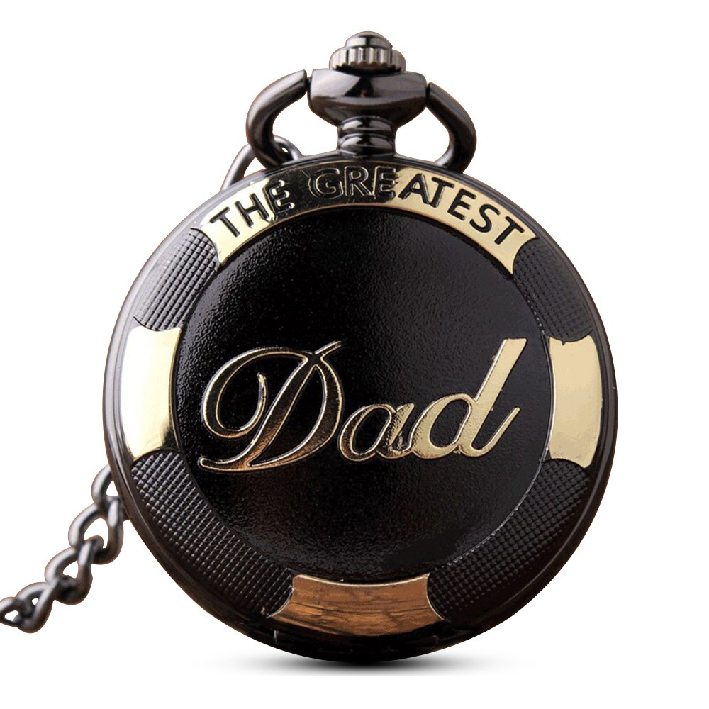 Reloj de bolsillo antiguo Gorben, de cuarzo, para hombre, con caja de regalo.: Amazon.es: Relojes