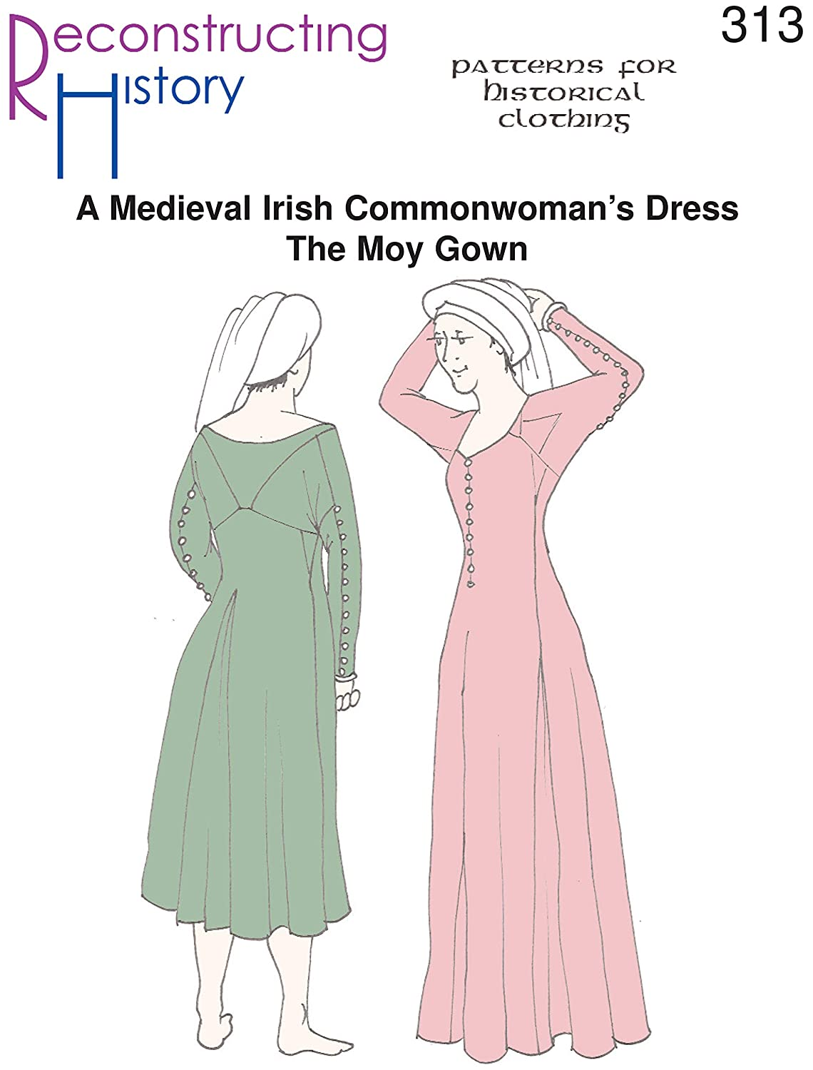 Amazon.com: Medieval Irish Moy Gown Pattern: Arts, Crafts & Sewing
