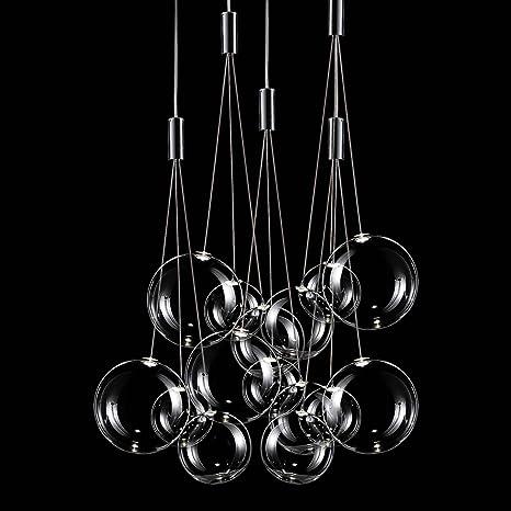 Studio Italia iluminación de Random en cromo transparente ...
