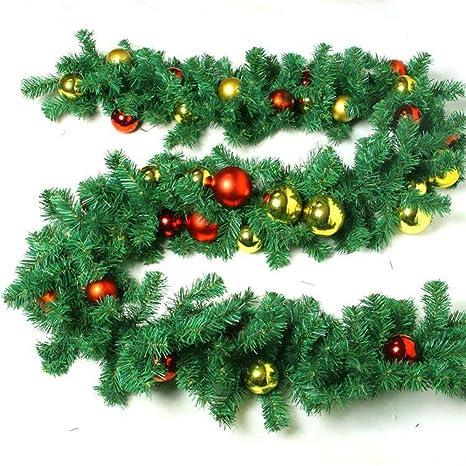 Articoli Di Natale.Myj Articoli Natalizi 2 7 Metri Con Rami Decorativi Di