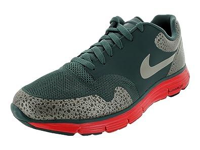Nike Men's NIKE LUNAR SAFARI FUSE + RUNNING SHOES 8.5 Men US (HASGAGRANITE
