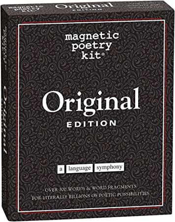 Amazon.com: Magnetic Poetry - Original Kit - All the Essential ...