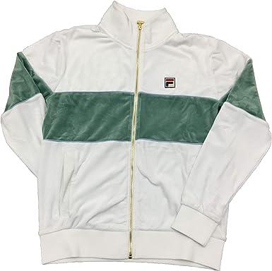 Fila Rocco Velour Jacket (White