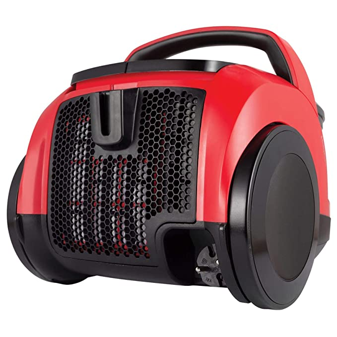 Beko VCO32801AR Bagless Cylinder Vacuum Cleaner in Red HEPA Filter
