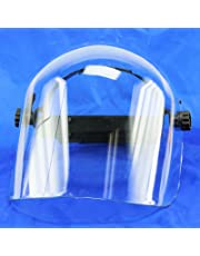 Clear Safety Face Shield - Adjust Sizes While in Use - Impact Protection
