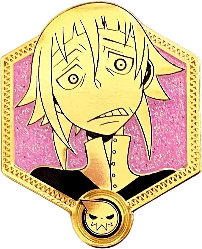 Soul Eater Enamel Pi Gold Soul Eater Collection Zen Monkey *NEW* Maka Albarn