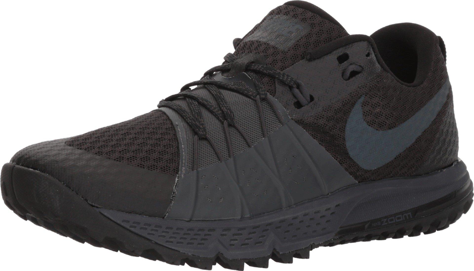 Nike Men's Air Zoom Wildhorse 4 Running Shoe Black/Anthracite-Anthracite 8.5
