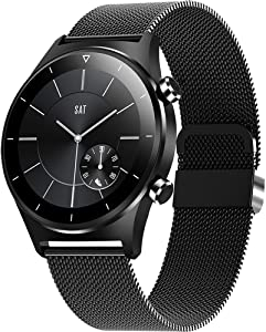 XinHUS Smart Watch for Android iOS Phones Compatible iPhone,Smartwatch Fitness Tracker with Heart Rate Monitor,1.28 Inch Touch Screen Activity Tracker,Smart Watches for Men Women,IP68 Waterproof